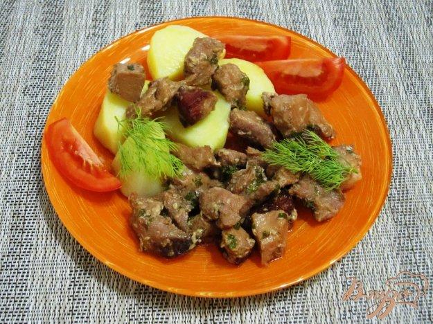 фото рецепта: Запеченная маринованная свинина