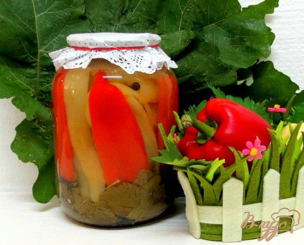 фото рецепта: Перец пряный, маринованный