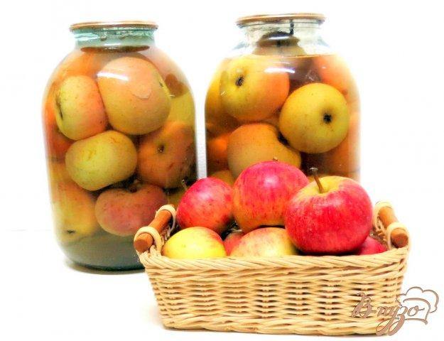 фото рецепта: Яблоки в сиропе