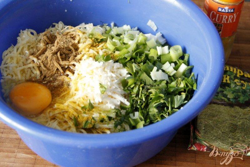 Рецепт Пирог из лаваша с зелененой сырной начинкой