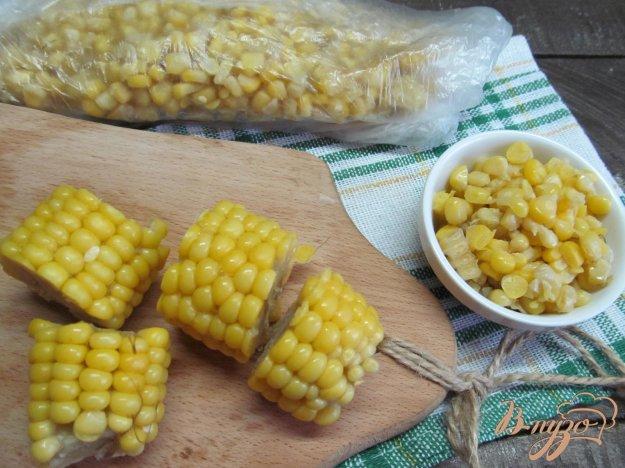 фото рецепта: Как заморозить кукурузу