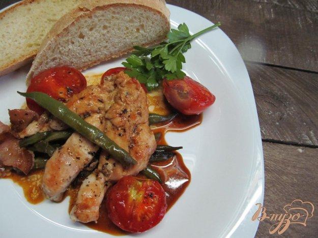 фото рецепта: Куриное филе с овощами