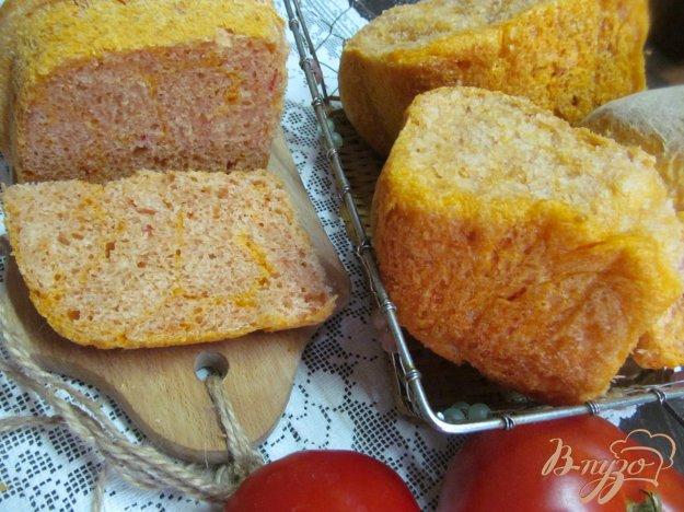 Хліб на томатах. Як приготувати з фото