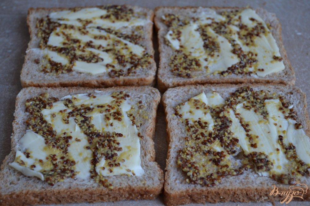 Рецепт Горячие бутерброды-гренки