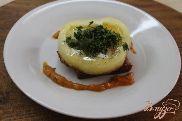 фото рецепта: Яичница глазунья на завтрак