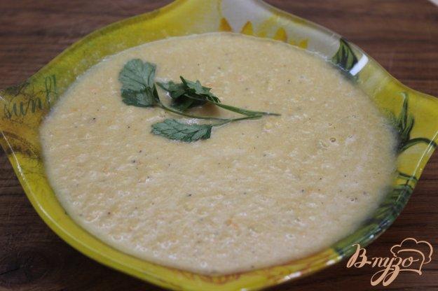 фото рецепта: Суп - пюре с кабачка и перца
