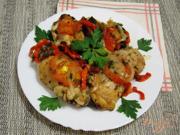 фото рецепта: Сочное чахохбили