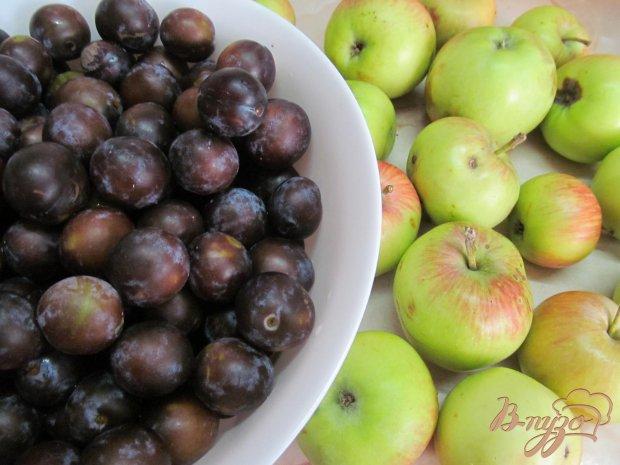 Рецепт Компот из сливы с яблоками и специями