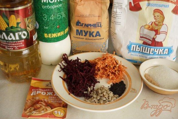 Рецепт Полбовый хлеб с сушеными овощами