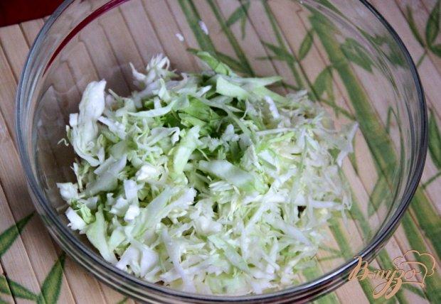 Рецепт Салат из капусты со сметанной заправкой