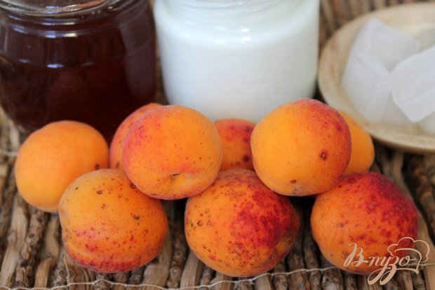 Рецепт Абрикосовый коктейль с медом