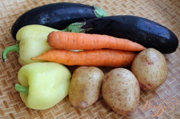 Рецепт Пикантный салат из печеных овощей