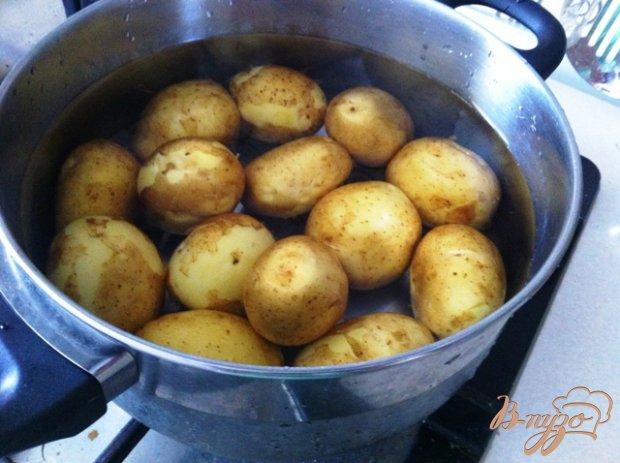 Рецепт Пряный, острый картофель запеченный в пакете