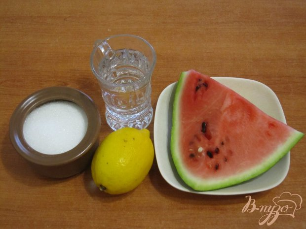 Рецепт Сорбет из арбуза
