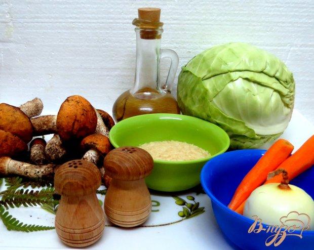 Рецепт Голубцы с лесными грибами