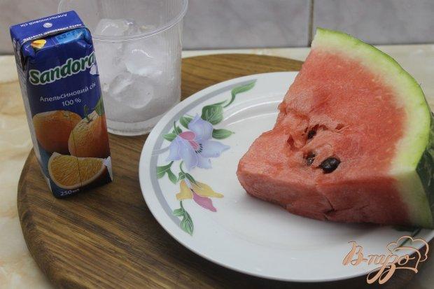 Рецепт Арбузный смузи с апельсиновым соком