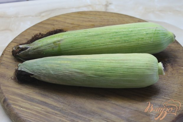 Рецепт Вареная кукуруза с соусом песто и чесноком