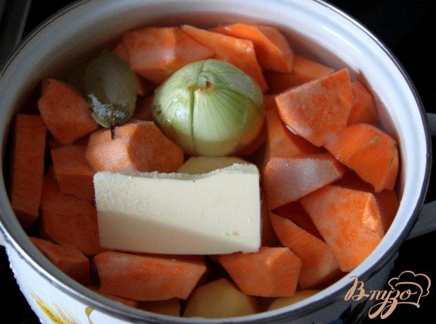 Рецепт Пюре с картофелем и бататом