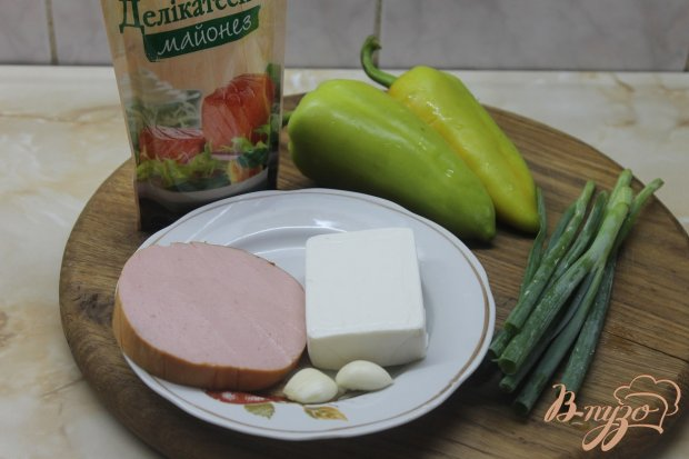 Рецепт Закуска из зеленого перца