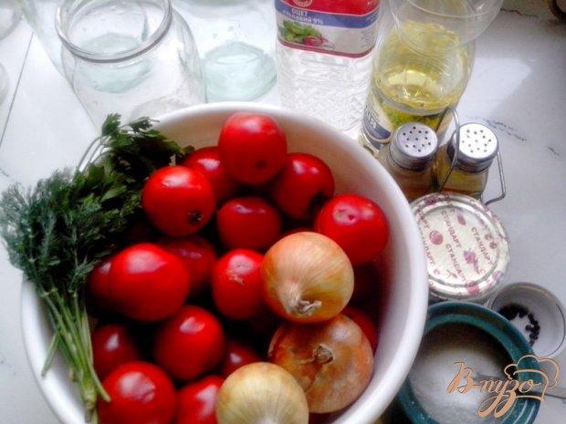 Рецепт Помидоры закусочные «Половинки»