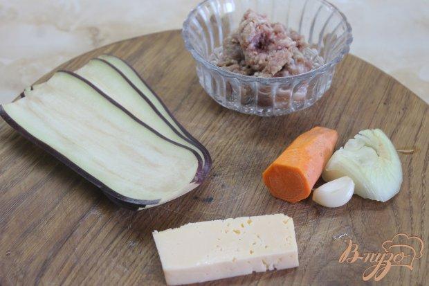 Рецепт Запеченные рулеты с баклажана с фаршем под сыром