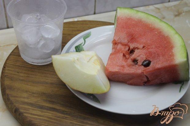 Рецепт Смузи с арбуза и дыни