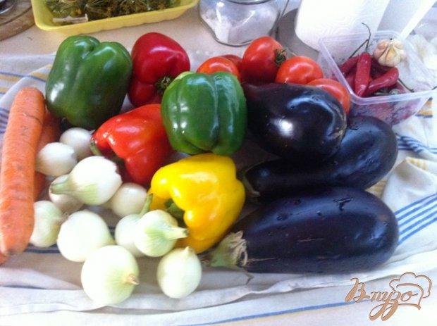 Рецепт Овощи тушеные со сванской солью