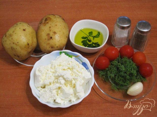 Рецепт Закуска из картофеля с творогом