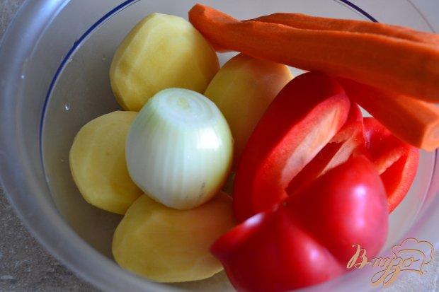 """Рецепт """"Жареный"""" суп со шпинатными клецками"""