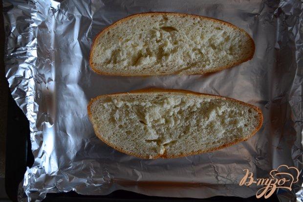Рецепт Сендвич с персиками и голубым сыром