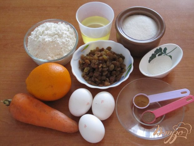 Рецепт Морковные кексики с корицей