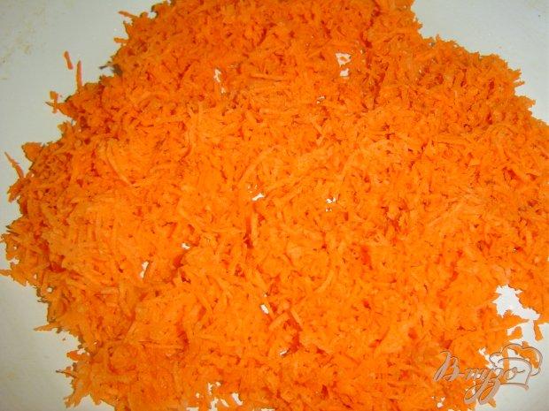 Рецепт Манная каша с яблоком и морковью