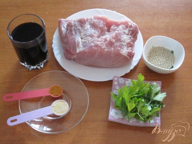 Рецепт Запеченная маринованная свинина