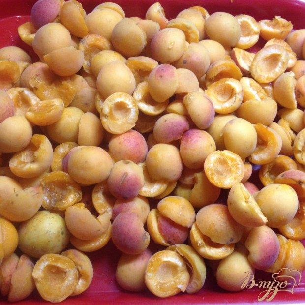 Рецепт Абрикосовое варенье половинками