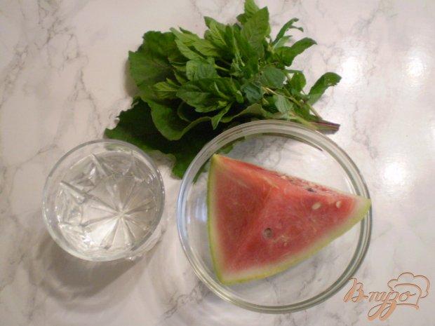 Рецепт Зеленый смузи с арбузом и мятой