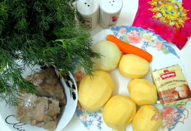 Рецепт Суп пюре с белыми грибами