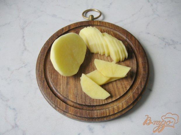 Рецепт Картофель запечённый с яблоками и цуккини