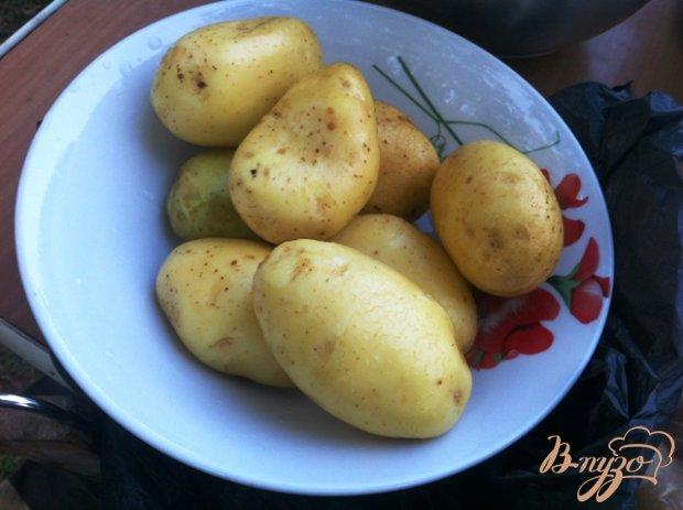 Рецепт Картофель запеченный на углях