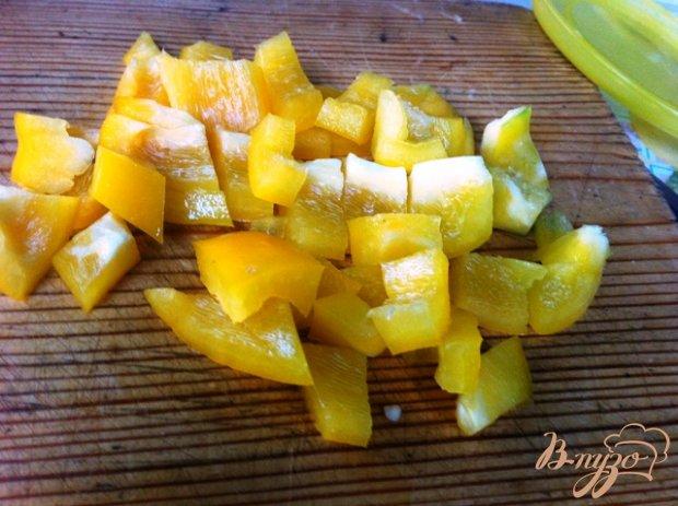 Рецепт Салат овощной с брынзой
