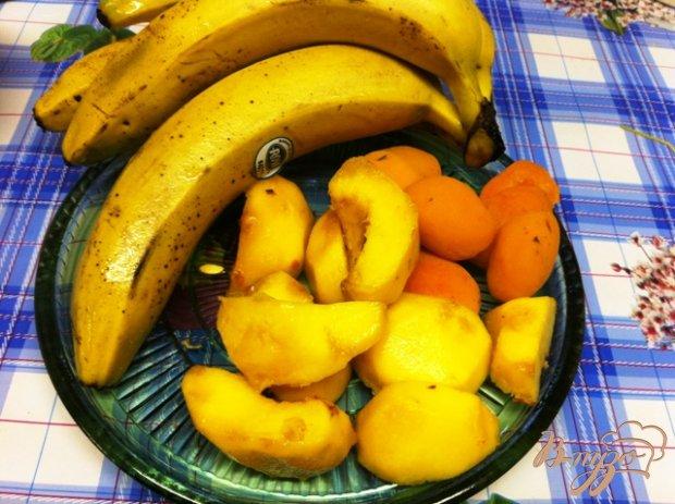 Рецепт Молочный коктейль с фруктами
