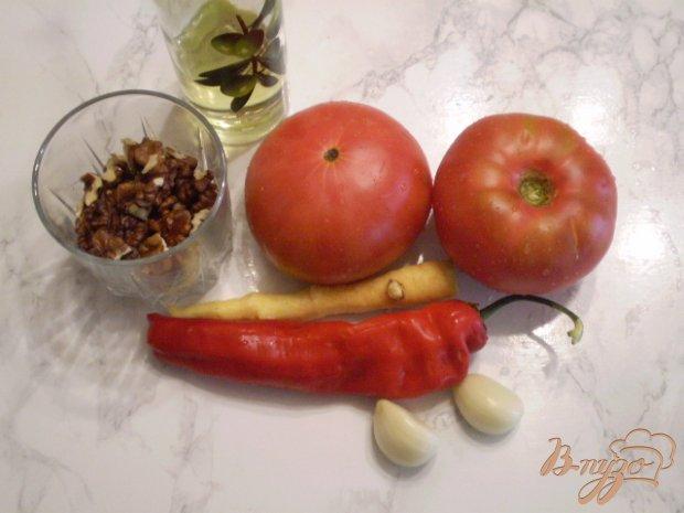 Рецепт Сырая аджика с орехами и хреном