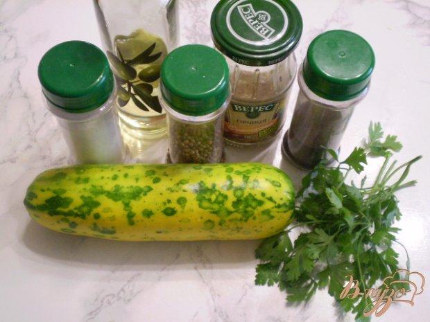 Рецепт Сырой кабачковый салат