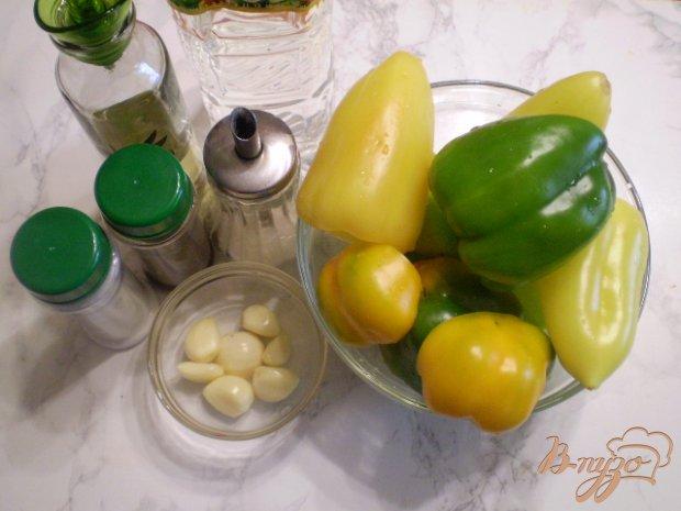 Рецепт Болгарский перец в маринаде