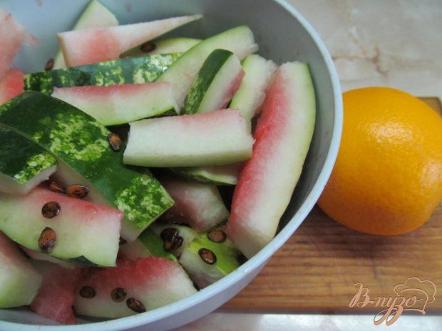 Рецепт Конфитюр из корок апельсина и арбуза