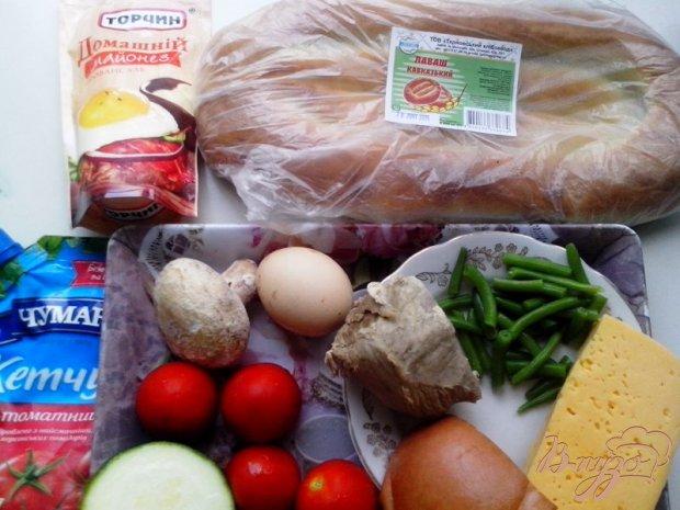 Рецепт Экспресс-пицца на кавказском лаваше