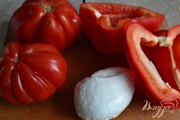 Рецепт Томатный гаспачо с моцареллой и мятой