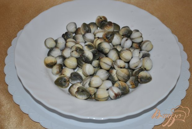 Рецепт Спагетти с моллюсками