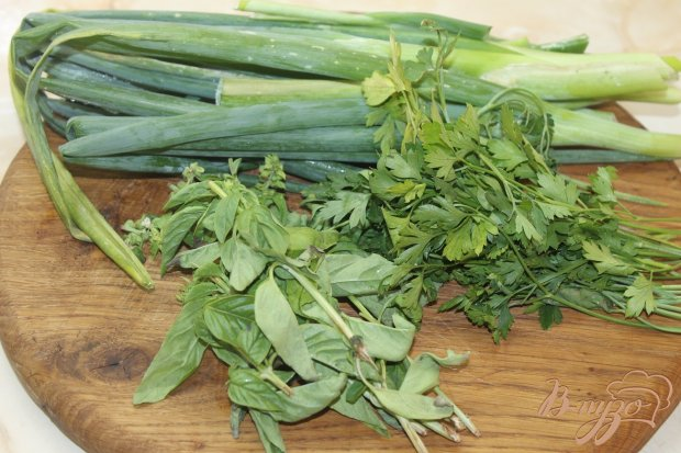 Рецепт Закусочный зеленый соус