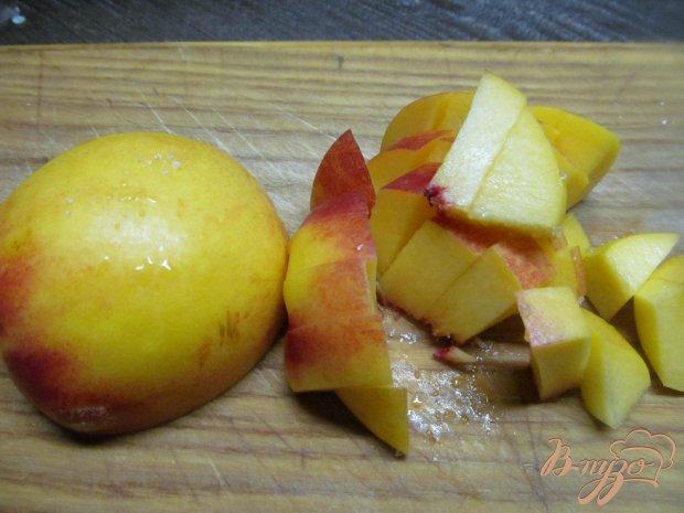 Рецепт Десерт из персика с творогом