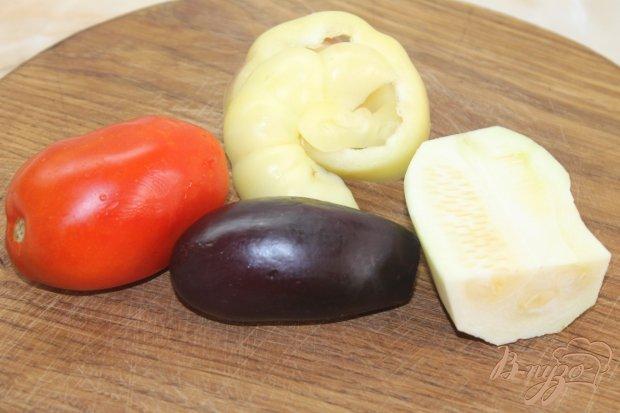 Рецепт Теплый овощной салат с винным уксусом